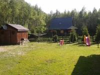 Dom  przy lesie